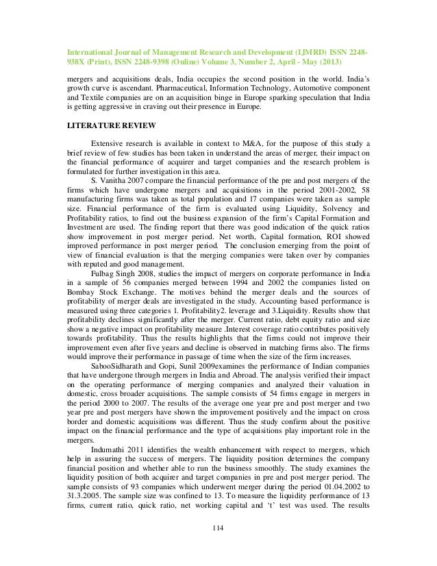 effects on mergers and acquisitions on Effects of mergers and acquisitions on the economy: an industrial organization perspective richard e caves once upon a time, study of the effects of mergers was clearly the.