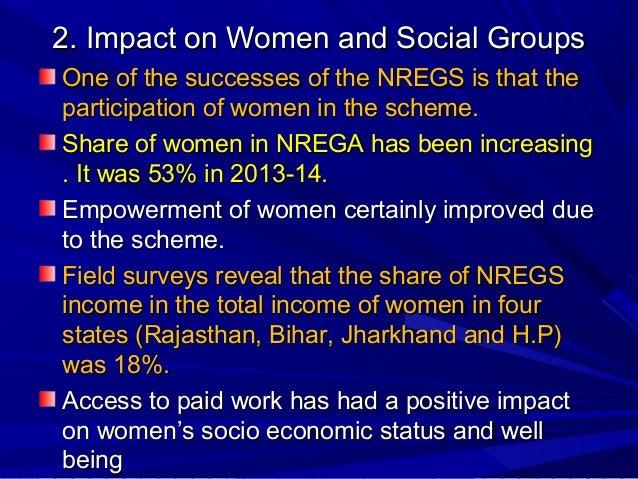 The impact of nrega on the