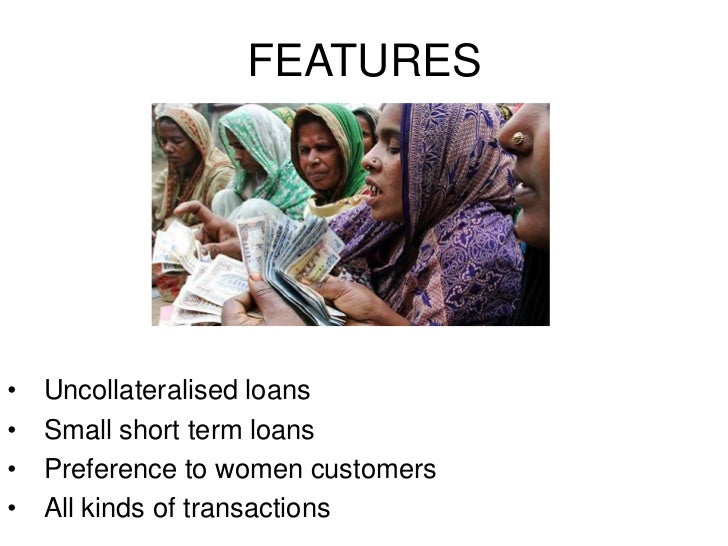 Impact of micro finance on small