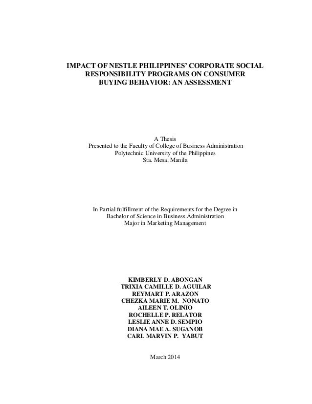 Phd thesis on consumer buying behaviour