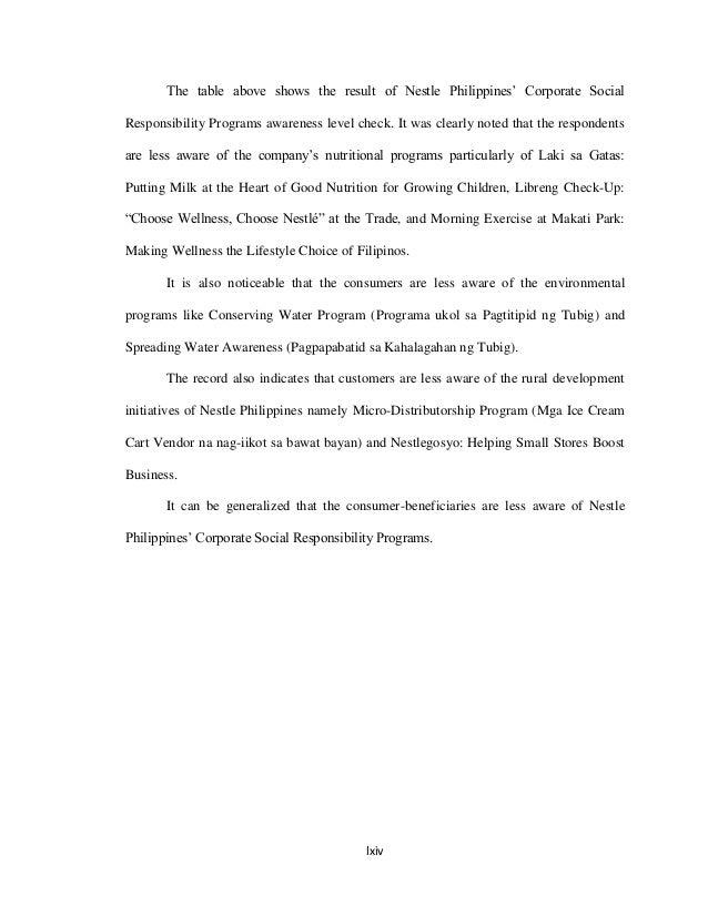 filipino thesis sample