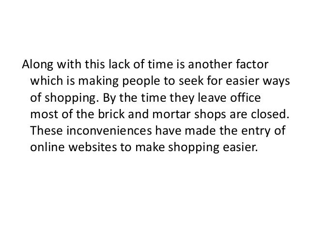 how has online shopping impact on society