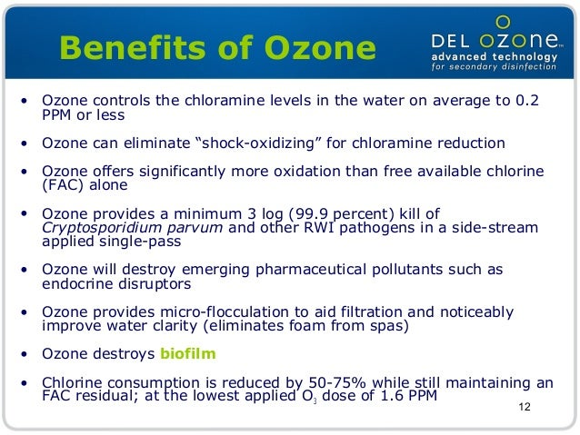 The Impact of Ozone as a Secondary Disinfection System