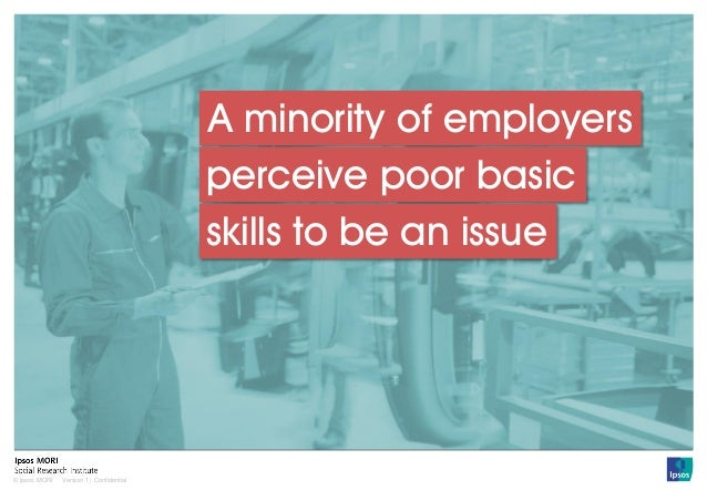Impact of Poor Basic Skills: The Employer Perspective Slide 3