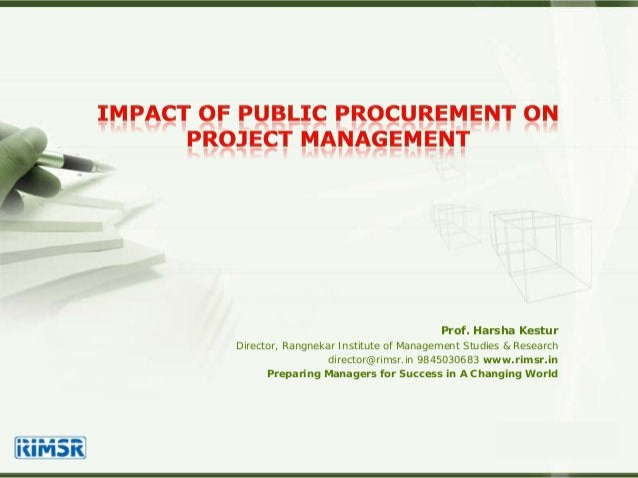 LOGO Prof. Harsha Kestur Director, Rangnekar Institute of Management Studies & Research director@rimsr.in 9845030683 www.r...