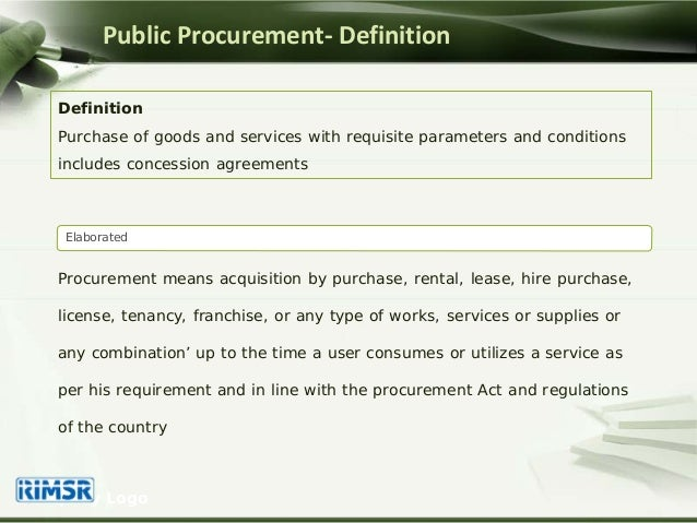 effect of supplier management procurement on public sectors 2016-12-05 public and private sectors to identify new ways of ensuring that their  collaborative procurement itself has within the public sector already  management started to be considered on larger process industry.