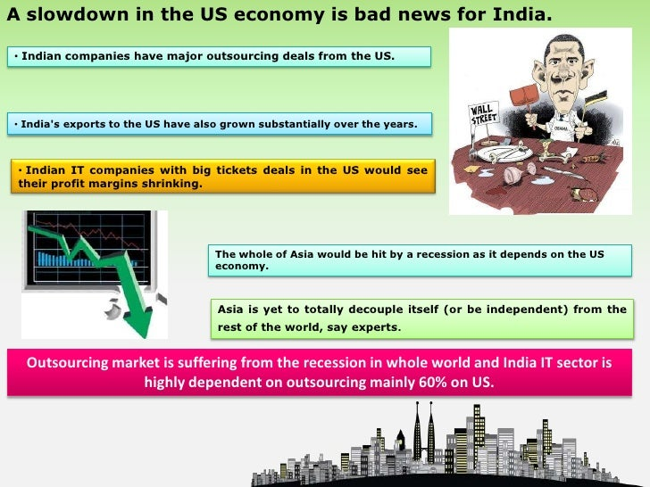 Limitations of economic recession in indian stock market