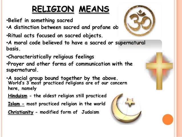 the impact of religion in society Religion is essential to a vibrant, democratic society  for these full effects to  take hold, the protection of religious freedom must extend beyond.