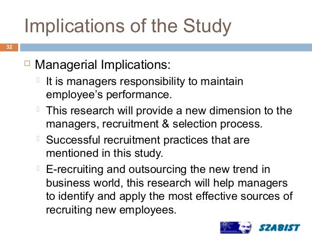 analysis of the effects of recruitment Keywords: recruitment, selection, job analysis, job description, public  for the  job, but poor planning and job analysis effects this aspect badly.