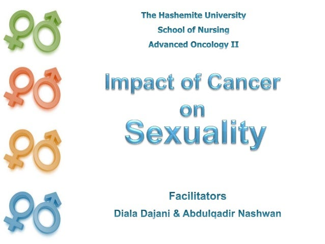 1. Review primary effect of cancer on sexuality 2. Understand the impact of cancer different therapeutic modalities on sex...