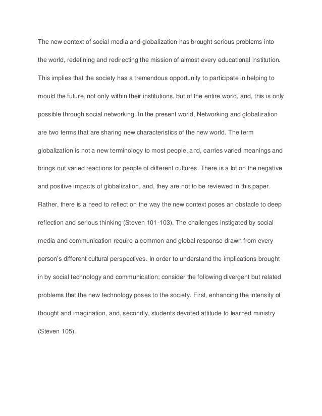 impact of technology on communication essays