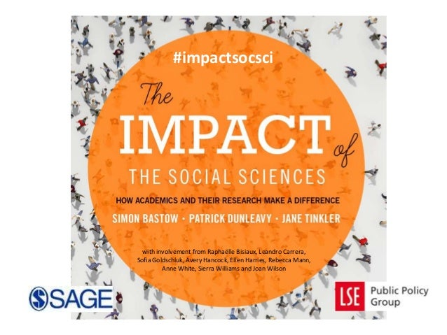 #impactsocsci  with involvement from Raphaëlle Bisiaux, Leandro Carrera, Sofia Goldschluk, Avery Hancock, Ellen Harries, R...