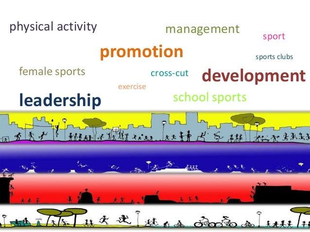 physical activity                  management          sport                    promotion                        sports cl...