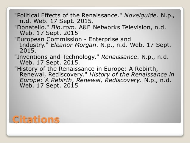 the impact of the renaissance on europe Introduction medicine in renaissance and reformation europe was a study in both continuity and change overall, the medical landscape was a complex web that.