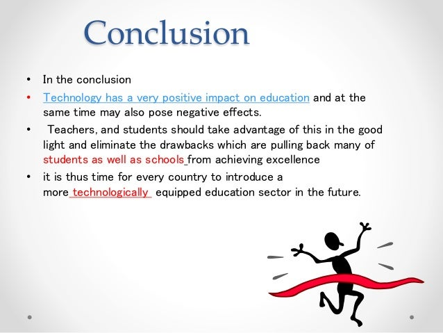 impact of technology on education thesis International journal of education and research vol 1 no 9 september 2013 1 the impact of modern technology on the educational attainment of adolescents.