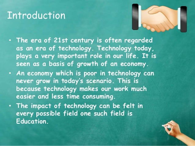 technological impact on higher education The role of education in technology use and  the role of education in technology use and adoption: evidence from  or enable workers to carry out higher.