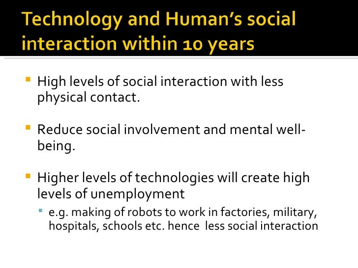 Impact of technology on mankind and the natural world essay