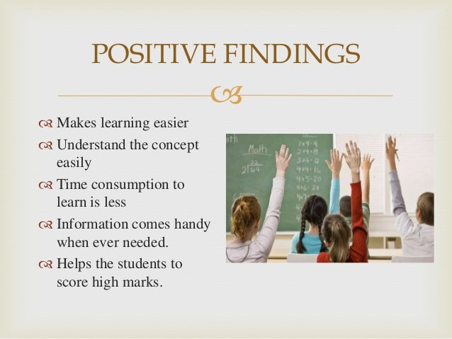 effect of ppt on students learning essay Teaching cause and effect relationships objectives students will use text structure to relate ideas in text to what they already know time frame to complete.