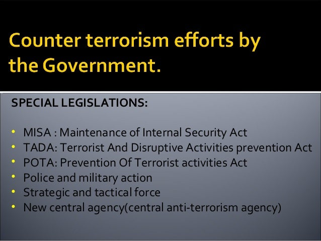the effects of the patrioct act on the prevention of terrorism The bill would extend the three expiring provisions of the usa patriot improvement and reauthorization act of 2005 and intelligence reform and terrorism prevention act of 2004, until december 8, 2011.