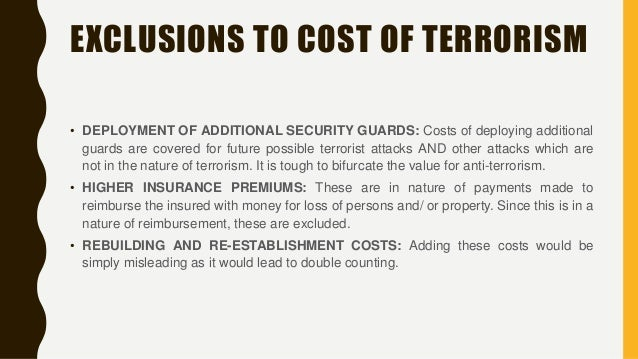 impact of terrorism on financial markets The economic effects arising from the september 11 attacks were initial financial markets the 9/11 attacks also had great impact on small businesses in.