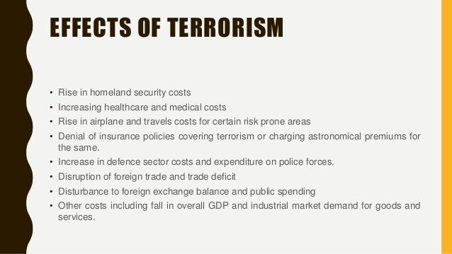 an analysis of terrorism as an international phenomenon Dr tilman brück, diw berlin, department of international economics, königin-   the analysis of terror-related economic phenomena on a temporary basis,  thus.