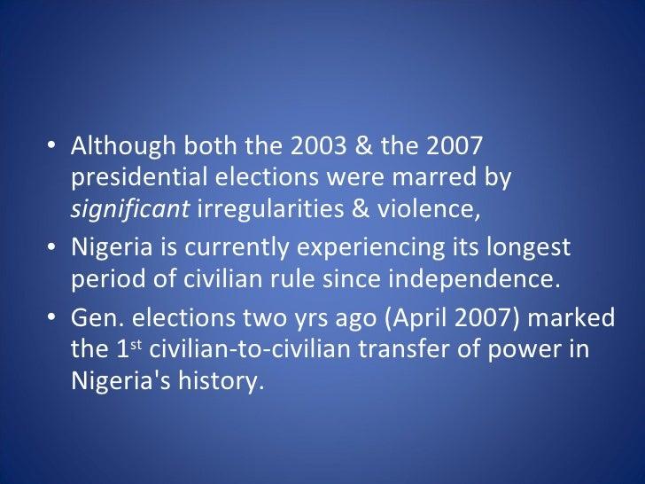 Effect of ethnicity in nigeria