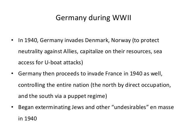 Impact of world war ii on german economy (1)