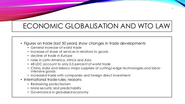 the impact of world trade organization wto The world trade organization (wto) agreements: their impact on kenya edited by: otieno-odek reporting international treaties.