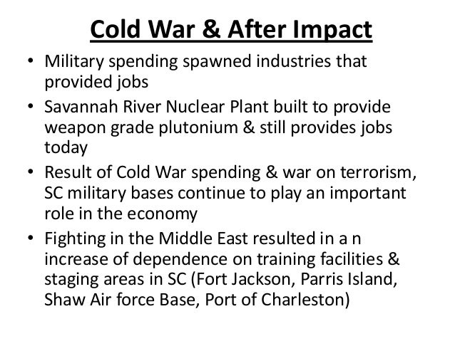 Impact of wwii & cold war871