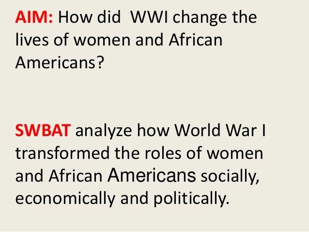 Gender Roles In A Post-War America