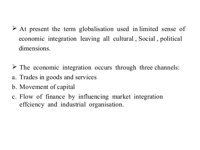 "impact of globalisation on emerging market economies What would be the impact of tariffs on a company's  framework to emerging markets in four countries  strategies that fit emerging markets""."
