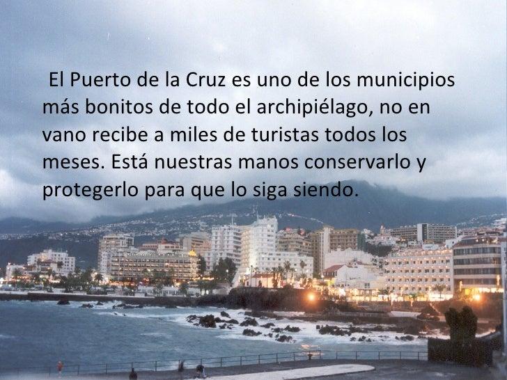 Impactos ambientales en el puerto de la cruz for Piscina municipal puerto de la cruz