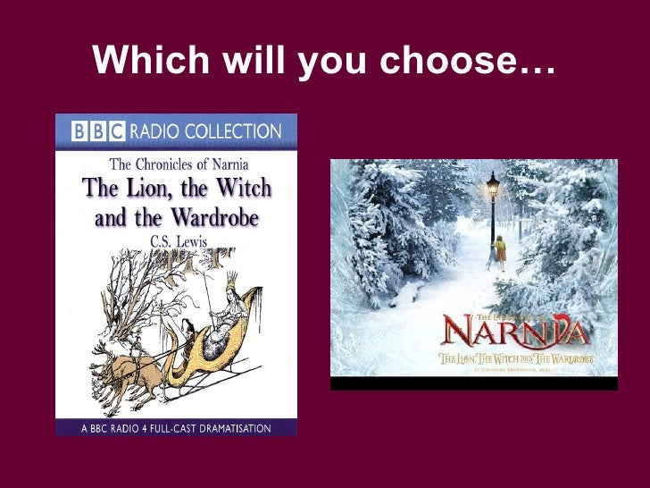 narnia the lion the witch and the wardrobe essay The lion, the witch and the wardrobe cs lewis describes how he got the idea to write the fairytale of narnia all the time since i was 16 years old, i.