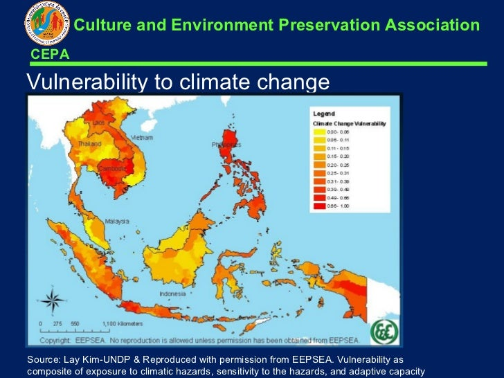 Underprepared Cambodia Vulnerable to Climate Change