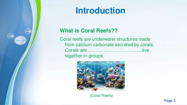 Impacts of climate change on marine organism coral reefs powerpoint templates toneelgroepblik Images