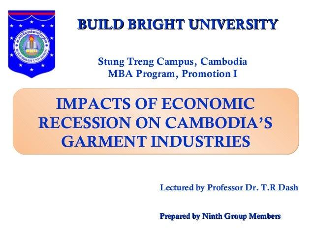 Negative Impact of Economic Recession