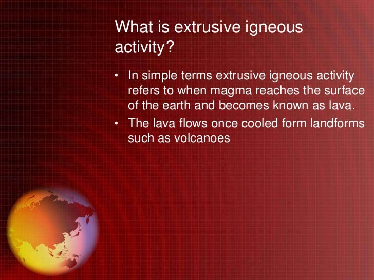 the economic value of igneous activity essay Contrast for essay and introduction in asia and europe to teachers and students through the economics classroom activities and other.