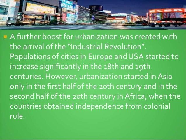 urbanization in europe 18th century