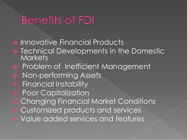 role of fdi in indian economy
