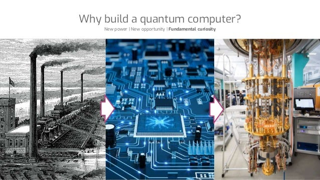 Why build a quantum computer? New power | New opportunity | Fundamental curiosity