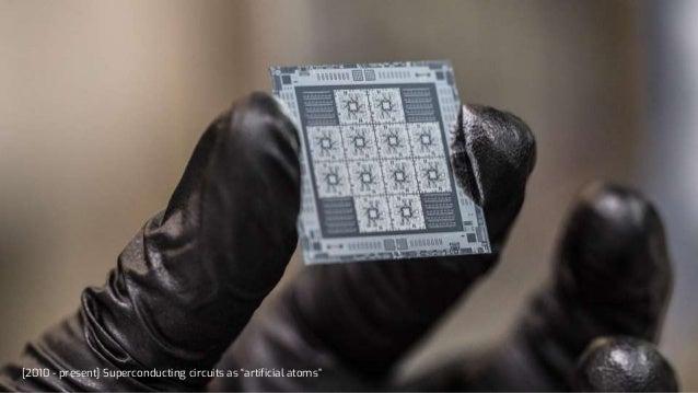 "[2010 - present] Superconducting circuits as ""artificial atoms"""