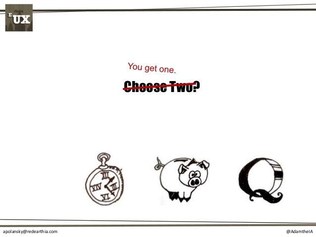 @AdamtheIAapolansky@redearthia.com Choose Two?