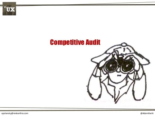 @AdamtheIAapolansky@redearthia.com Competitive Audit