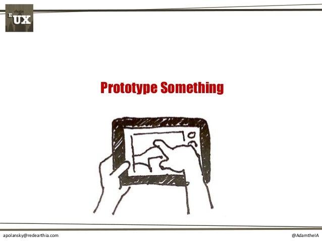 @AdamtheIAapolansky@redearthia.com Prototype Something
