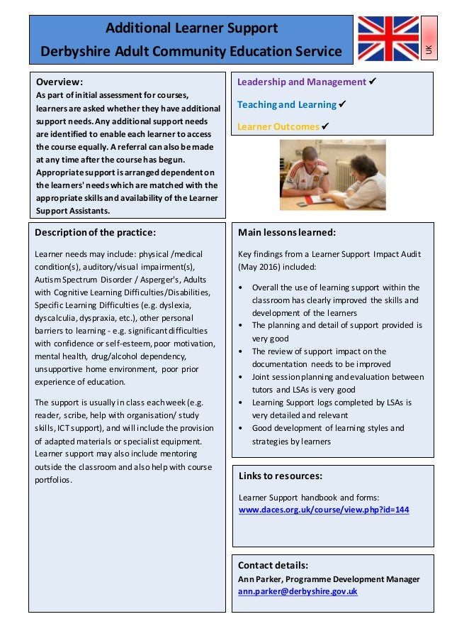 Leadershipand Management Teaching, Learningand AssessmentPractice Learner Outcomes 13 Mainlessons learned: Key findings fr...