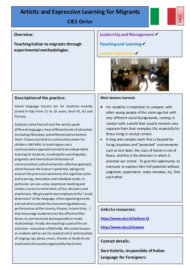 Leadershipand Management Teaching, Learningand AssessmentPractice Learner Outcomes 15 Main lessons learned:  For students...
