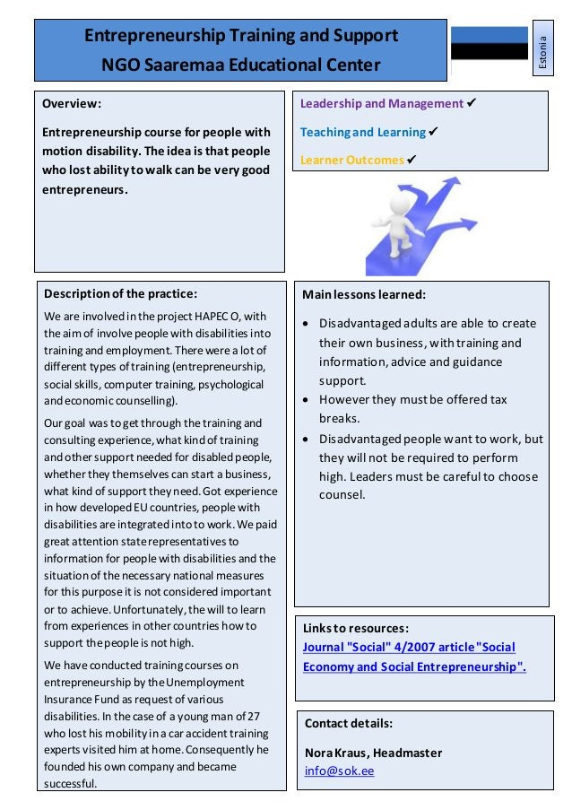 Leadershipand Management Teaching, Learningand AssessmentPractice Learner Outcomes 21 Mainlessons learned:  Disadvantaged...