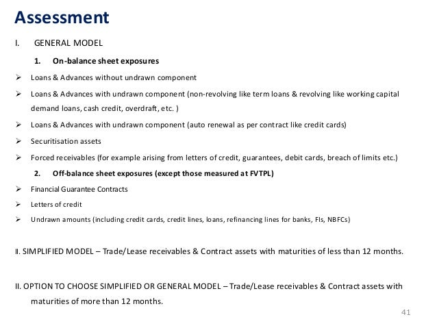 Ifrs 9 Ind As 109 Impairment Of Financial Asset