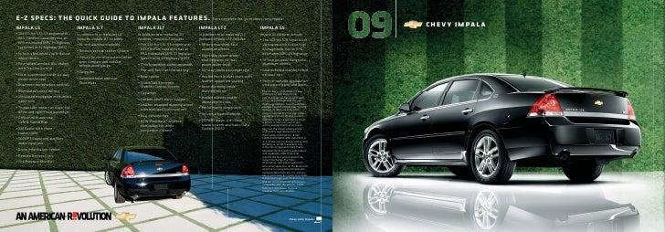 �-� �����: ��� ����� ����� �� ������ ��������. For a complete list, go to chevy.com/impala. IMPALA LS                     ...