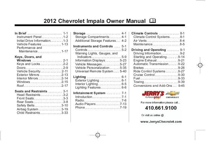 chevy silverado owners manual 2013